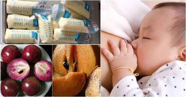 Top 9 loại trái cây bà đẻ nên ăn để sữa đặc thơm tràn trề ướt áo, bé bú no căng bụng, lại còn khỏe đường ruột cho cả hai mẹ con