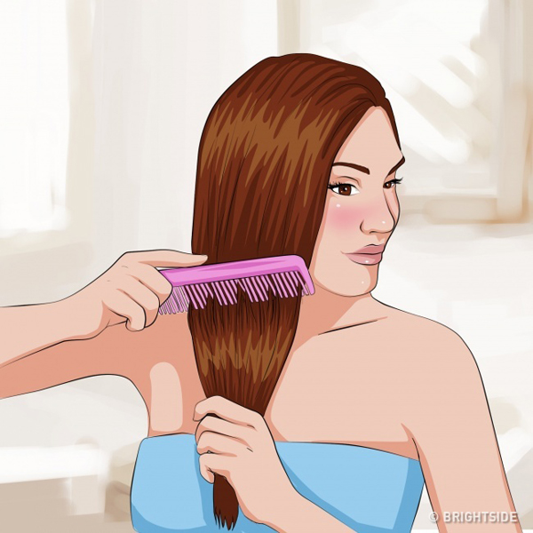 Bảy điều cần làm để tóc luôn suôn mượt trong mùa đông