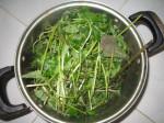 Nhân mụn ẩn bị đẩy lên hết nhờ tuyệt chiêu nấu nồi nước xông mặt bằng 3 loại lá