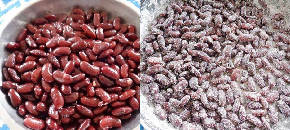 Cách làm mứt đậu đỏ - ăn một miếng vận đỏ như son