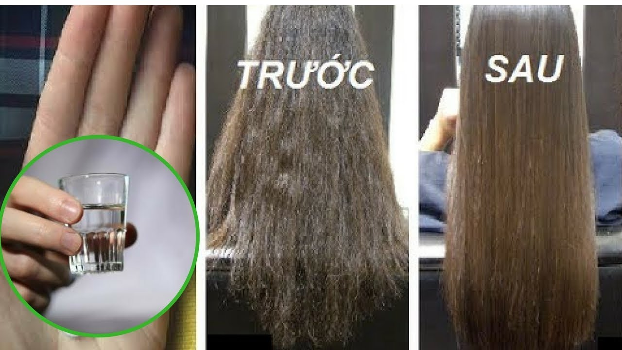 3 Công thức chăm sóc tóc bằng Rượu Vodka cho tóc chắc khỏe, đen mượt & hết gàu, hết rụng