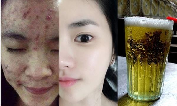 Rửa mặt với bia của bố ngày Tết và cô gái nhận được cái kết bất ngờ