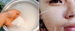 Nhúng mặt nạ giấy vào nước này rồi đắp lên mặt, lỗ chân lông to đùng cũng se khít chẳng cần dùng kem dưỡng