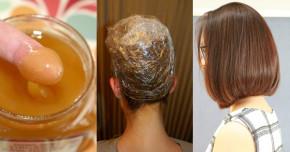 Tự nhuộm tóc màu nâu hạt dẻ ĐẸP y chang ngoài tiệm chỉ với 3 THÌA MẬT ONG, lên màu cực chuẩn và lâu phai