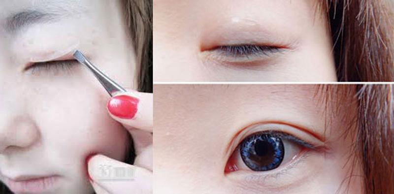 Bí quyết cho bạn gái nào mắt 1 mí muốn có ngay mắt 2 mí to tròn xinh đẹp ngay tại nhà