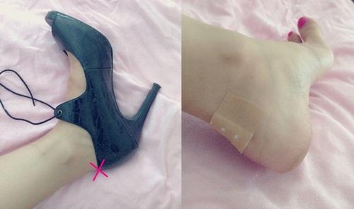 Biến đôi giày bị rộng hoặc chật trở nên vừa khít chỉ trong 5 giây, là con gái nhất định phải biết mẹo này