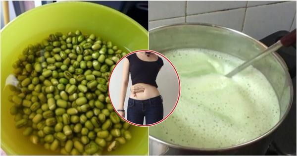 Công thức nước đậu xanh đúng chuẩn giúp giảm cân hiệu quả, ngăn ngừa lão hóa
