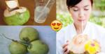 Nước dừa sẽ có công dụng GẤP 10 LẦN nếu như cho thứ này vào trước khi uống