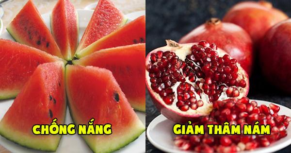 Top 9 siêu thực phẩm chống lão hóa tốt nhất phụ nữ nhất định phải ăn hằng ngày