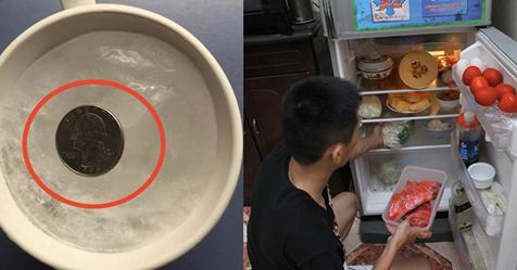 Đây là lý do trước khi đi chơi xa phải bỏ đồng xu vào tủ lạnh?