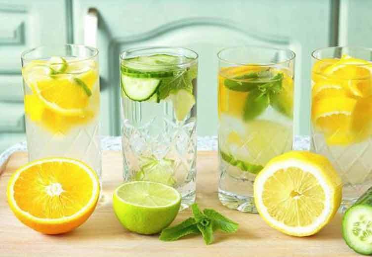 Tự làm 3 loại nước detox giúp da trắng sáng mịn không tì vết