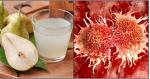 Cách uống nước ép lê giúp tiêu diệt tế bào ung thư tận gốc