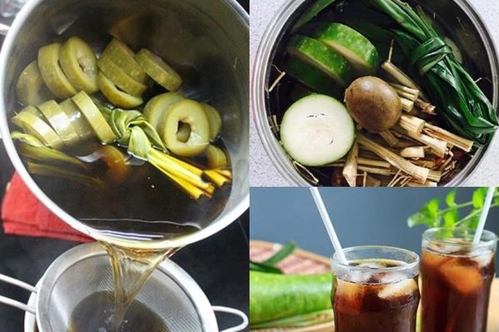 Muốn da mịn màng bất chấp nắng hè, hãy thường xuyên uống trà bí đao hạt chia, được làm theo cách sau