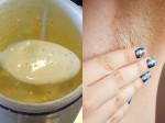 4 hỗn hợp tự nhiên làm sạch lông nách hiệu quả nhanh và rất dễ làm