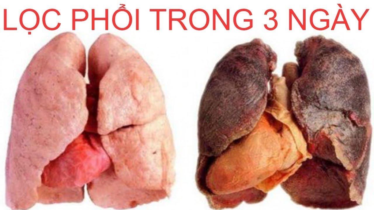 Cách lọc sạch phổi trong 3 ngày, thậm chí người hút thuốc 40 năm cũng sạch