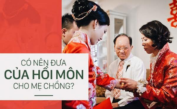 Mẹ chồng đòi giữ tiền mừng cưới, con dâu cười: Cũng được, con tính bằng lãi ngân hàng thôi