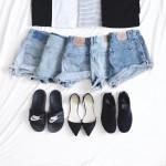 4 kiểu giày dép bệt thời thượng với quần shorts để ra đúng chất mùa hè