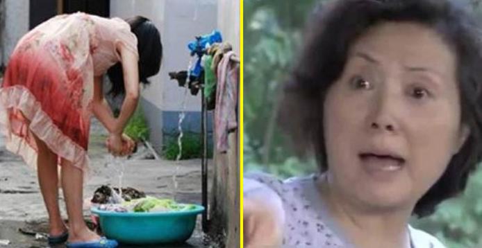 Con dâu bầu 6 tháng vẫn bị con trai bắt giặt quần áo bằng tay, mẹ quát: 'Mày tiếc vài nghìn tiền điện mà không xót vợ con mày à thằng mất dạy?'