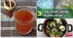 3 loại nước uống thanh nhiệt, giải độc ngày hè, cực tốt cho trẻ em và mẹ bầu
