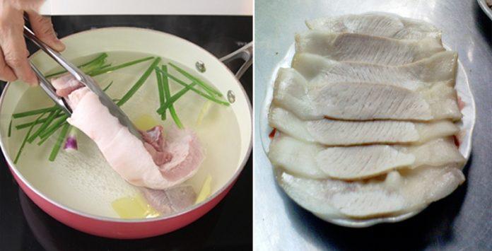Để luộc thịt heo thơm ngon và loại bỏ hết độc tố, bạn chỉ cần thêm nguyên liệu này!