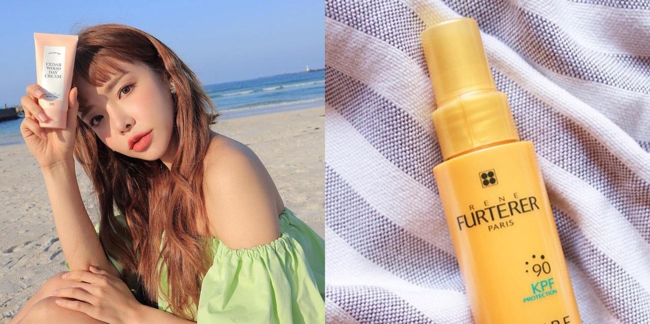 Các nàng có biết trước cái nắng nóng mùa hè, mái tóc cũng cần được chống nắng cẩn thận