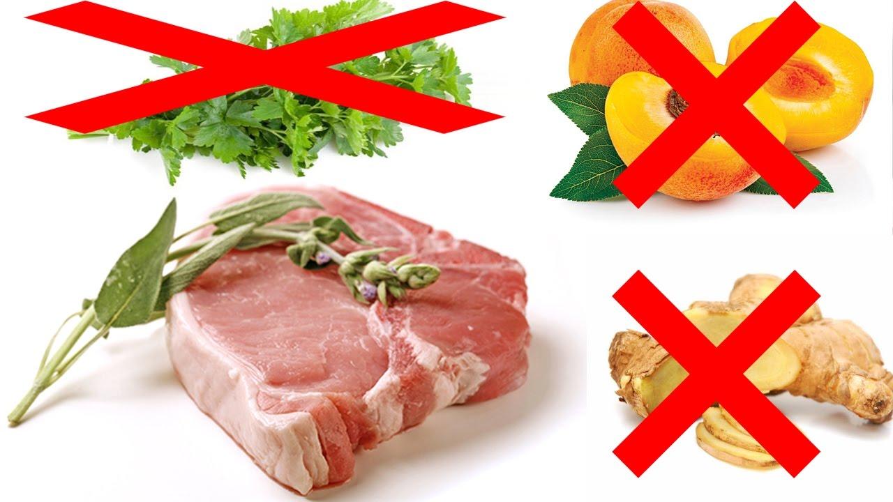 Tuyệt đối không nấu thịt lợn với những thực phẩm này!