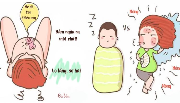 Vì Đâu Phụ Nữ Mang Thai Hay 'Than' Mất Ngủ, Khó Ngủ? Bố Đọc Để Hiểu Nỗi Khổ Của Mẹ Nè!