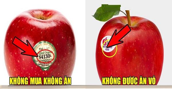 Đi siêu thị mà thấy trái cây có mã code bắt đầu là số 8 thì giá có rẻ đến mấy cũng đừng dại dột mua