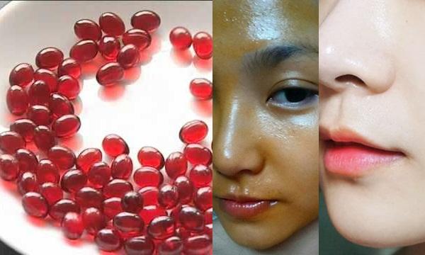 Bõ công thoa 2 viên này lên mặt, da em không những trắng mà mụn, sẹo thâm, nám cũng vĩnh viễn ra đi mà chẳng cần uống collagen