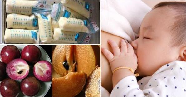 Top 9 loại trái cây bà đẻ ăn vào sữa đặc thơm tràn trề, bé bú no căng bụng, bổ cho mẹ lẫn con