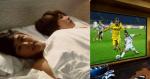 Chồng lấy tiền tiết kiệm mua tivi cong xem Worldcup, vợ hét: Mai vác nó lên giường mà ôm luôn nhé