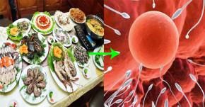 Không phải cặp vợ chồng nào cũng biết, ăn nhiều hải sản tăng khả năng thụ thai