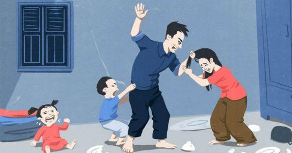 Kết quả hình ảnh cho đánh vợ
