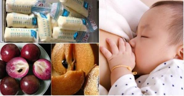 9 loại trái cây bà đẻ ăn vào sữa đặc thơm tràn trề ướt áo, bé bú no căng, luôn khỏe mạnh