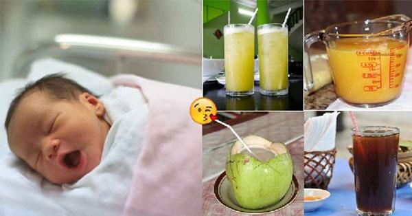 Bầu em tăng 9kg, con sinh ra dài 53cm nặng 3,5kg nhờ uống 5 loại nước này suốt thai kỳ, giờ mách cho chị em nè!