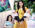 Bà mẹ 27 thu gọn 36cm vòng bụng trong 1 tháng, thân hình quyến rũ như hotgirl dù đã có 3 mặt con