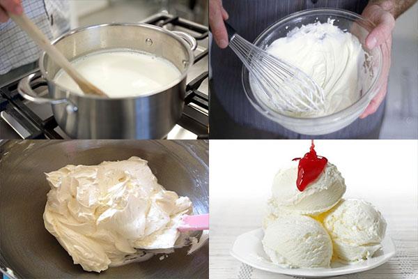 Bí quyết làm kem qúa ngon mà cực đơn giản giải nhiệt trong mùa hè