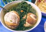 Trứng vịt lộn hầm ngải cứu – món ăn bổ dưỡng giúp người gầy tăng 5kg lại trị đau đầu kinh niên