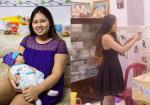 """Bà mẹ 9X """"lột xác"""" ngoạn mục giảm từ 100kg xuống còn 50kg sau sinh"""