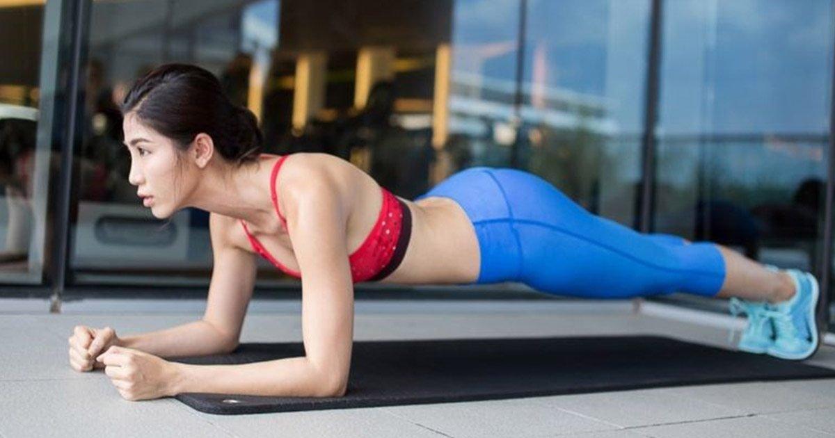 Chẳng cần mất công gập bụng vẫn có bụng phẳng, eo thon nếu biết tập Plank đúng cách