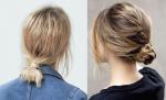 6 Kiểu tóc búi thấp cực xinh chỉ tốn 2 phút cho mùa Thu – Đông