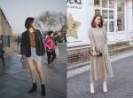 4 Tips mix boots cùng váy/chân váy không những thời thượng mà còn tôn dáng cực hiệu quả này nhé!