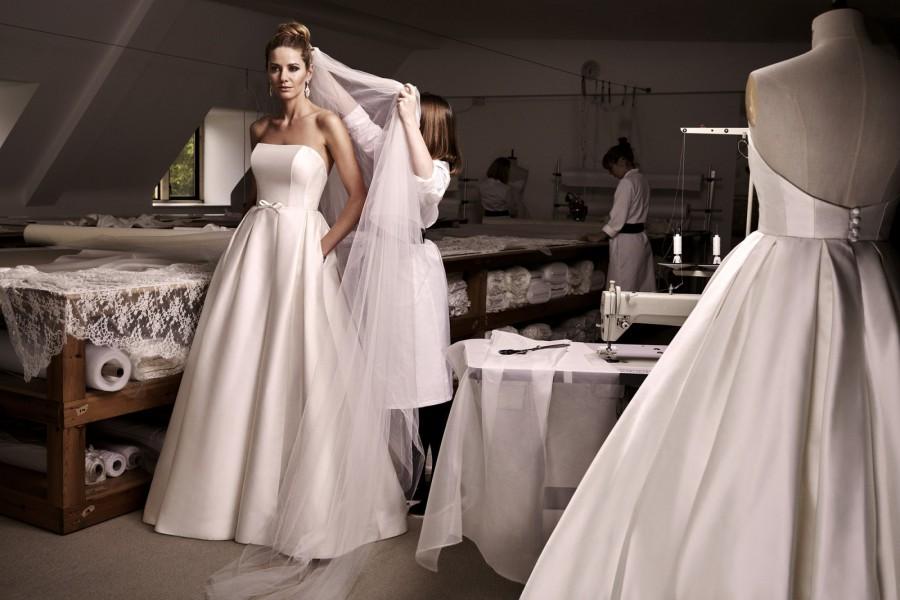 Váy cưới có túi - Xu hướng HOT được các cô dâu yêu thích lựa chọn trong năm 2018