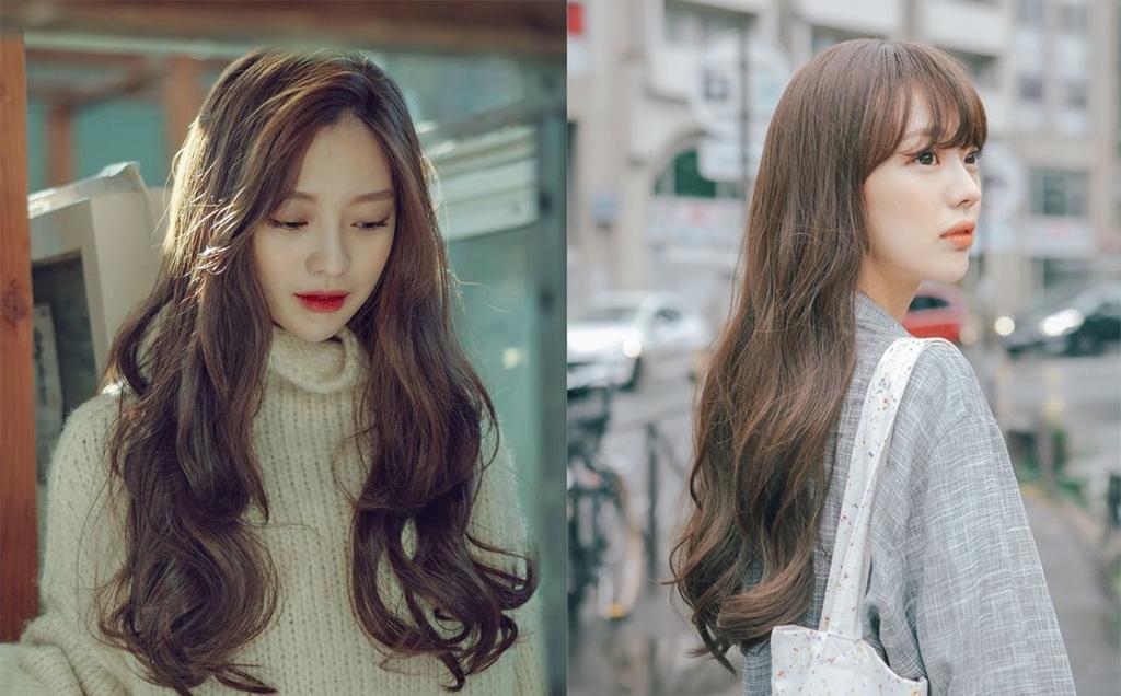 Cập nhật ngay xu hướng tóc dài gợn sóng được  các chị em yêu thích nhất cuối năm 2018