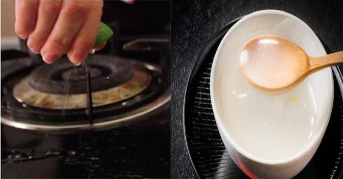 6 cách vệ sinh bếp gas cực đỉnh, gỉ sét đen xì cũng sáng bóng chỉ