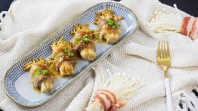 Ba chỉ cuốn nấm, món ăn nghe có vẻ bình thường, nhưng thêm một bước này lại trở nên ngon đặc biệt!