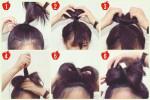 """4 Cách búi tóc đẹp """"thần tốc"""" trong 3 phút cho các nàng đi chơi lễ"""