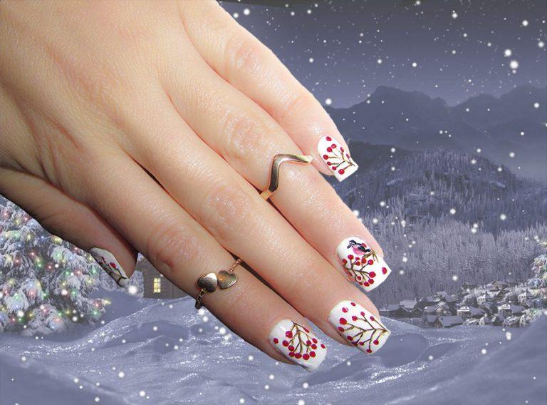Tổng hợp những mẫu nail đẹp cho mùa đông với những màu nail hot nhất năm 2018