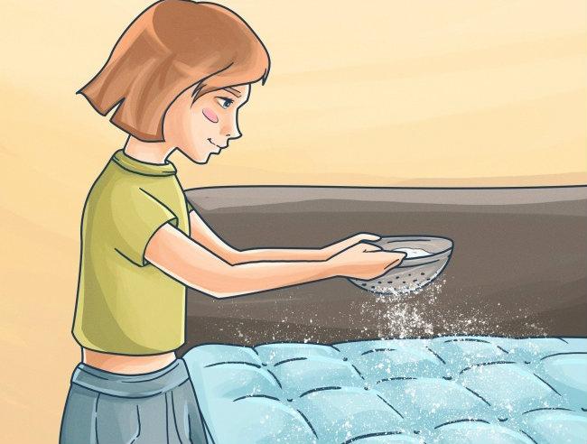 """""""Phép lạ"""" khi làm sạch bụi bẩn chỉ bằng việc rắc loại bột này lên nệm, giường sẽ thấy ngay!"""