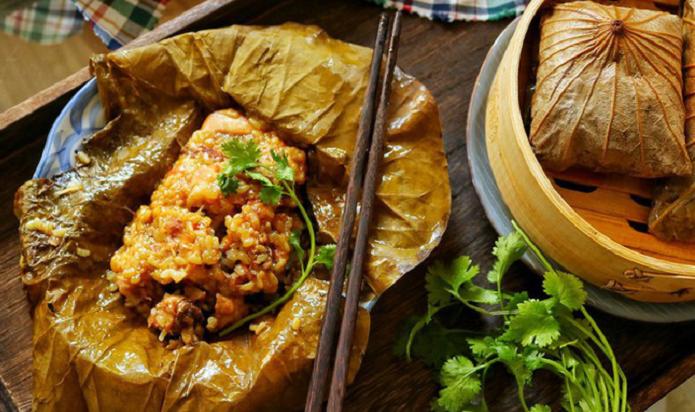 Học nấu XÔI GÀ LÁ SEN đúng kiểu nhà hàng Tàu, ngon đúng điệu!